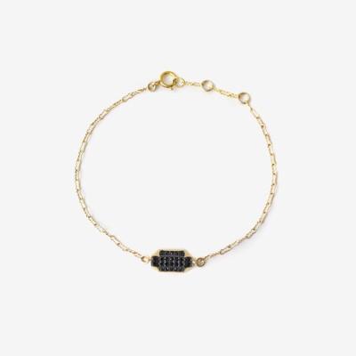 Inked Prism Pavé Bracelet