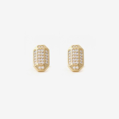 Prism Pavé Post Earring