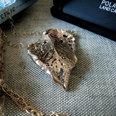 Birch Leaf Necklace