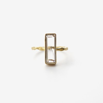 BAGUETTE - Clear Ice Ring
