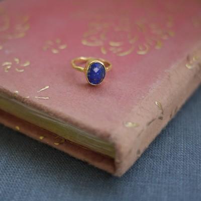 GEM RING: Oval Lapis Lazuli