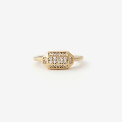 Prism Pavé Ring