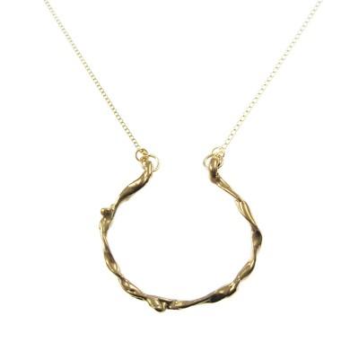 Embrace Hoop Necklace