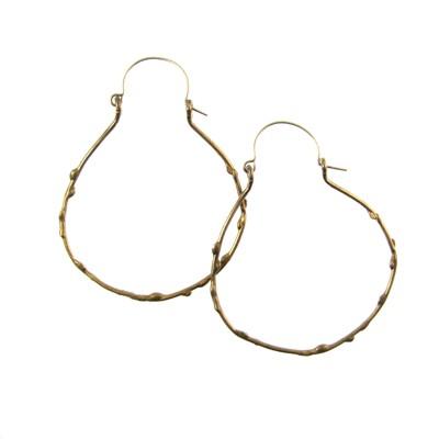 Embrace Hoop Earring