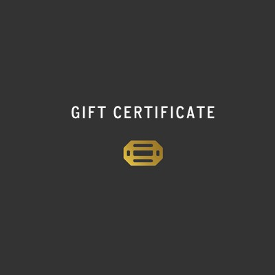 . Gift Certificate .