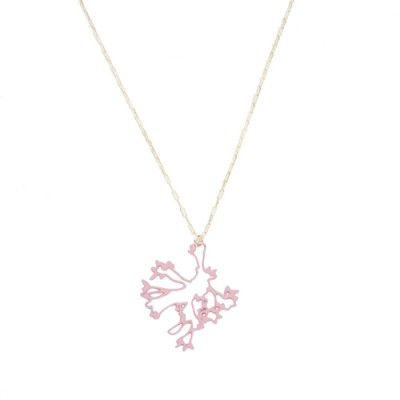 Jasmine Necklace: Blush Pink