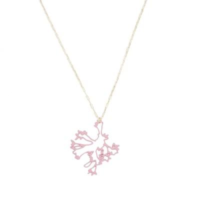 Jasmine Necklace: Blush Pink