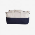 Navy Color Block Duffel