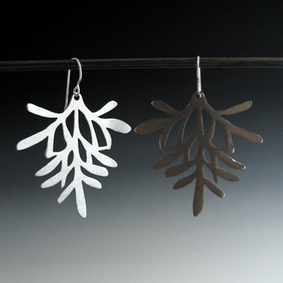 Rosemary Earring - Steel