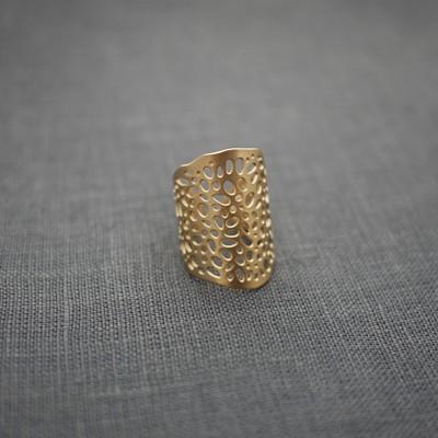 Seed Cuff Ring II