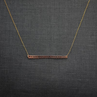 Seed Bar Necklace (M)