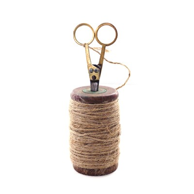 Spool of Twine with Scissors