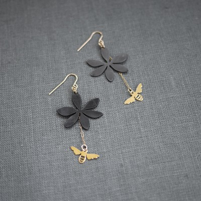 Sweet Little Woodruff Earring