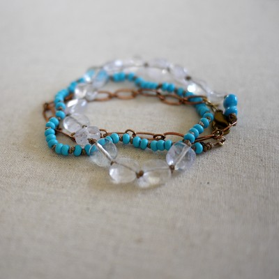 Wraparound Bracelet/Necklace - One of a Kind